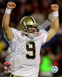 Drew Brees Super Bowl XLIV Photo