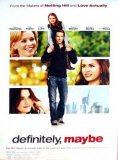 Definitely, Maybe Plakater