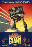 The Iron Giant - X Affiches