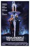 HighlanderII–Síla kouzla Plakát
