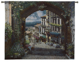 Arch de Cagnes Wall Tapestry