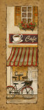 Village Caf&#233; Prints by Charlene Olson