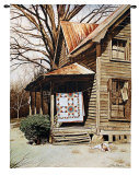 Gilley's House Wall Tapestry by Bob Timberlake