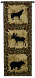 Lodge Silhouette Wall Tapestry