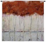 Treeline Wall Tapestry by E.l. Myers