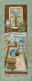 Baine de Blue I Posters by Charlene Olson