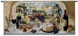 Harvest Celebration Wall Tapestry by Janet Kruskamp