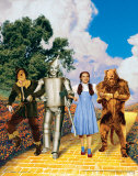 The Wizard of Oz: Glitter Yellow Brick Road Art
