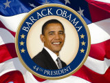 Obama: 44th President Posters