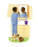 Sunshine Smiles (Boy) Prints by Sylvia Walker