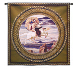 Perseus on Pegasus Wall Tapestry
