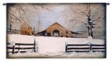 Winters Gift Wall Tapestry by Bob Timberlake