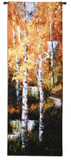 Autumn Birch Falls Wall Tapestry by Art Fronckowiak