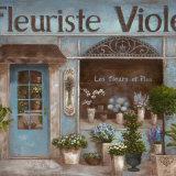 Fleuriste Posters par  Nan
