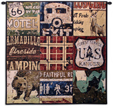 American Adventure Wall Tapestry by Aaron Christensen