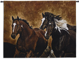 Ready to Run Wall Tapestry by Robert Duncan
