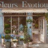 Fleurs Exotique Prints by  Nan