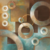 Circular Motion II Print by Elaine Vollherbst-Lane