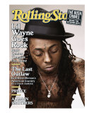 Lil Wayne, Rolling Stone no. 1076, April 16, 2009 Photographie par Peter Yang