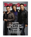 Bono, Mick Jagger, and Bruce Springsteen, Rolling Stone no. 1092, November 26, 2009 Photographic Print by Mark Seliger