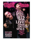 Bono and the Edge (U2), Rolling Stone no. 1089, October 15, 2009 Photographic Print by Sam Jones