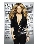 Shakira, Rolling Stone no. 1091, November 12, 2009 Photographic Print by Max Vadukul