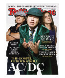 AC/DC, Rolling Stone no. 1065, November 13, 2008 Photographic Print by James Dimmock