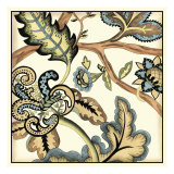 Jacobean Tile II Prints by Chariklia Zarris