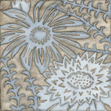 Silver Filigree III Print by Megan Meagher