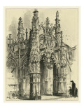 Ornate Facade IV Prints by Albert Robida
