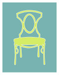 Graphic Chair I Prints by Chariklia Zarris
