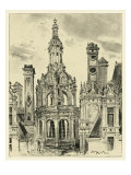 Ornate Facade III Giclee Print by Albert Robida