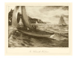 Falmouth Harbor Premium Giclee Print by Napier Henry