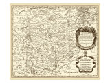 Antiquarian Map I Giclee Print by Vision Studio 