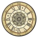 Vintage Lace Clock Print