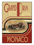 Monaco 1935- Poster Poster by Ethan Harper