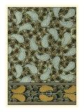 Garden Tapestry I Kunst af Eugene Grasset