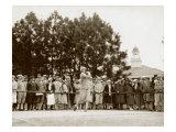 Pinehurst Golfers I Giclee Print
