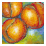 Abstract Fruits II Giclee Print by Chariklia Zarris