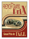 French Grand Prix 1914- Poster Affiches par Ethan Harper