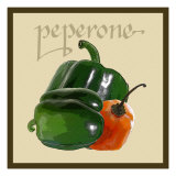 Italian Vegetable IV Premium Giclee Print