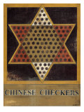 Chinese Checkers Posters by Norman Wyatt Jr.