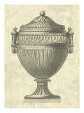 Crackled Empire Urn II Giclée-Druck von Vision Studio