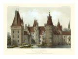French Chateaux IV Prints by Victor Petit