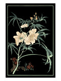 Midnight Floral II Plakat af Vision Studio