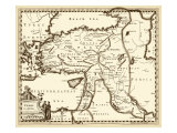 Antiquarian Map III Giclee Print by Vision Studio