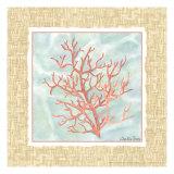 Ocean Coral Prints by Chariklia Zarris