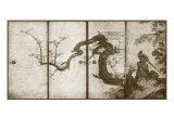 Cherry Blossoms and Pheasant Plakater