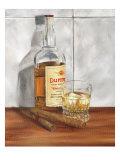 Scotch avec des glaçons II Affiches par Jennifer Goldberger