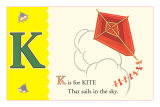 K is for Kite Posters